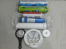 For All RO Water Filter1Year Service Kit +Kemflo+75 GPD Vontron+Membrane Housing