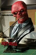 Sideshow Marvel Red Skull Legendary Scale Bust Exclusive - Captain America, Nazi