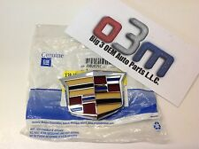 Cadillac SRX CTS Front Grille Chrome/Red/Blue/Black/Gold Crest EMBLEM new OEM