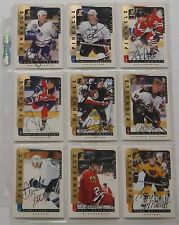 1996/97 Be A Player Full Set Of 219 Auto Cards Plus More