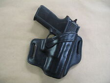 Sig Sauer P 250, 320 Sub Compact OWB Leather 2 Slot Pancake Belt Holster BLK RH