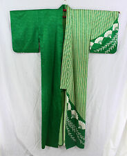 踊り着物 Odori Kimono - Sensu - Made in Japan 19404