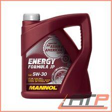 4 L LITER MANNOL ENERGY FORMULA JP 5W-30 MOTOR-ÖL MOTOREN-ÖL API SN
