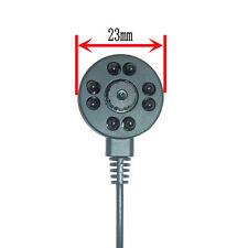 8 LED night vision 600TVL Color CCTV mini spy hidden pinhole small camera IR NEW