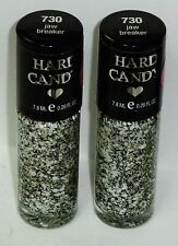 2 New HARD CANDY Nail Polish Pop Art Collection Mullti Confetti JAW BREAKER #730