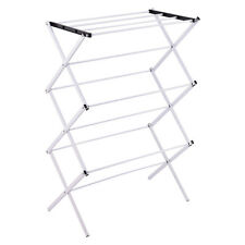 Foldable Clothes Storage Drying Rack Portable Metal Laundry Hanger Towel New