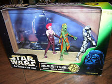 Star Wars POTF JABBA THE HUTT'S DANCERS: RYSTALL GREETA LYN ME 1998 HASBRO