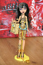 Cleo de Nile Basic/Fashion Pack Gold Golden OOAK muñeca Doll Monster High