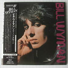 BILL WYMAN - Stone Alone + 2 JAPAN MINI LP CD TECI-24301 ROLLING STONES