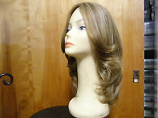 "European Multidirectional 16""  Wig Sheitel Light Brown& Highlights 16/10"