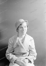 Negativ-Frau-Hut-Mode-Cute-German-Woman-Girl-Lady-Hat-1930er Jahre-1930s-1