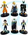 Dragonball Z Dragon Ball DBZ Piccolo Trunks Vegeta Cell Goku Gohan 6 Figures Set
