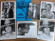 Konvolut 5 org. Pressefotos BRONCO BILLY Clint Eastwood + Presseheft