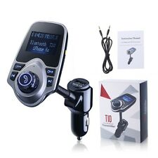 Bluetooth Hands-free Car Kit FM Transmitter Support AUX FLAC.WAV.MP3.WMA Formats
