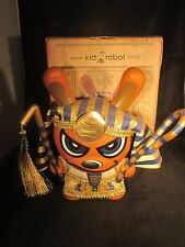 "KIDROBOT DUNNY 8"" SKET ONE King Tut Gold Excellent Condition Blue 2006"