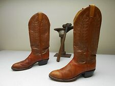 DISTRESSED BROWN TONY LAMA BUCKAROO MADE IN USA COUNTRY WESTERN COWBOY BOOTS 7