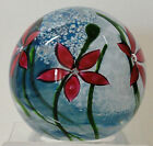 Caithness Windflower Ruby Paperweight Ltd Ed 1985 Terris