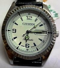 VINTAGE JAPAN MADE CITIZEN AUTOMATIC DAY/DATE WRIST WATCH JO-6094