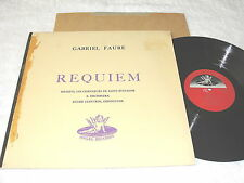 """Andre Cluytens,+Soloists """"Faure: Requiem"""" 1950's LP, VG , Angel ANG.35019"""