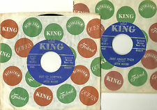 LATTIE MOORE, OUT OF CONTROL b/w JUST ABOUT THEN,ORIGINAL KING 45 rpm,1963, M- !