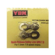 2 Sets New Quality YABAN Missing Link 7/8 Speed Re-usable Pin Length:7.3mm Silve