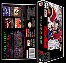 Time Cop - SNES Reproduction Art Case/Box No Game.