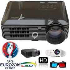3500 LUMENS 3000:1 SUPPORT HD1080p 3D LED PROJECTOR FOR HOME/BUSINESS 2xHDMI/USB