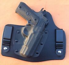 leather/kydex hybrid IWB tuckable holster for Rock Island Armory M1911 A .380