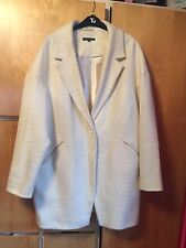 Marks And Spencers Limited Edition Ivory Coat Size 12