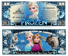 Frozen (The Movie) Million Dollar Novelty Money