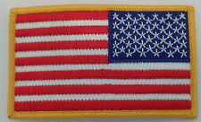 US ARMY US FLAG REVERSE PATCH - MADE IN THE USA!!