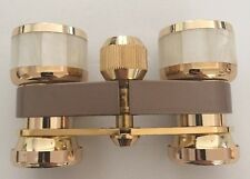 Bushnell 3X Coated Opera Theatre Binoculars - Gold Tone Mother of Pearl - Japan