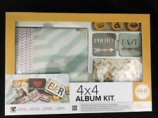We R Memory Keepers Instagram Album Kit Shine 4x4 Album Self-Inking Stamps Cards