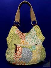 Relic by Fossil Floral Canvas Hobo Shoulder Bag Purse Faux Large $68 EXC