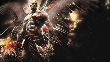 Poster 42x24 cm Kratos God Of War