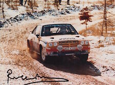 Russell Brookes Hand Signed 8x6 Photo Rally.