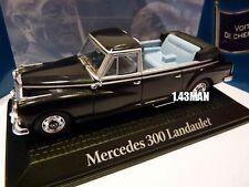 voiture1/43 norev les voitures de chefs d'état MERCEDES 300 Landaulet Adenauer