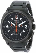 ESQ Movado Men's 07301418 esq Excel tm Black PVD Chrono Watch