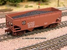 Hay Brothers COAL #1 LOAD - fits all Micro-Trains 33-ft Twin-Bay Hopper Cars