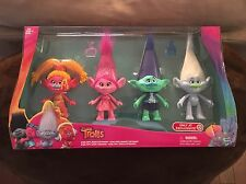 DreamWorks Trolls Target Exclusive Collection 4 Pack DJ, Suki, Poppy, & Branch