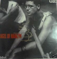 "U2 Angel of Harlem Signed By Adam Cover with 7"" record .Personally obtained 1989"