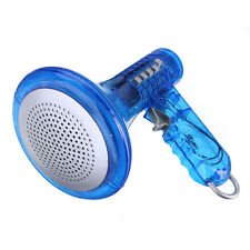 Amplifies Effects Blue Voice Changer Robot Loud Superbright Kids Toy Megaphone