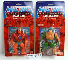 MOTU, Commemorative Man-At-Arms & Beast Man, Masters of the Universe, MOC, MISB