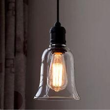 Retro LED Beleuchtung Glas Halogen Deckenleuchte Modern Kronleuchter Hängelampe