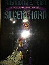 SILVER HORN BY RAYMOND FEIST  *SIGNED*