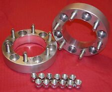 "2 pcs 2"" WHEELS SPACERS ADAPTERS Early Chevy 7/16 K5 Blazer K10"