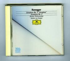 CD (NEW) HONEGGER KARAJAN SYMPHONY # 3 & 2 (DG 20th CENTURY)