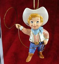 WDCC It's a Small World XMAS Ornament - USA Howdy Pardner! - Walt Disney COA