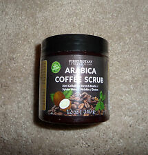 100% Natural Arabica Coffee Scrub 12 oz Cellulite Remover Reduces Fine Lines NEW