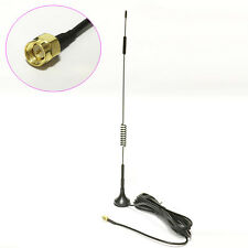 433Mhz wireless module antenna 10dbi high gain sucker aerial 3M cable SMA #2